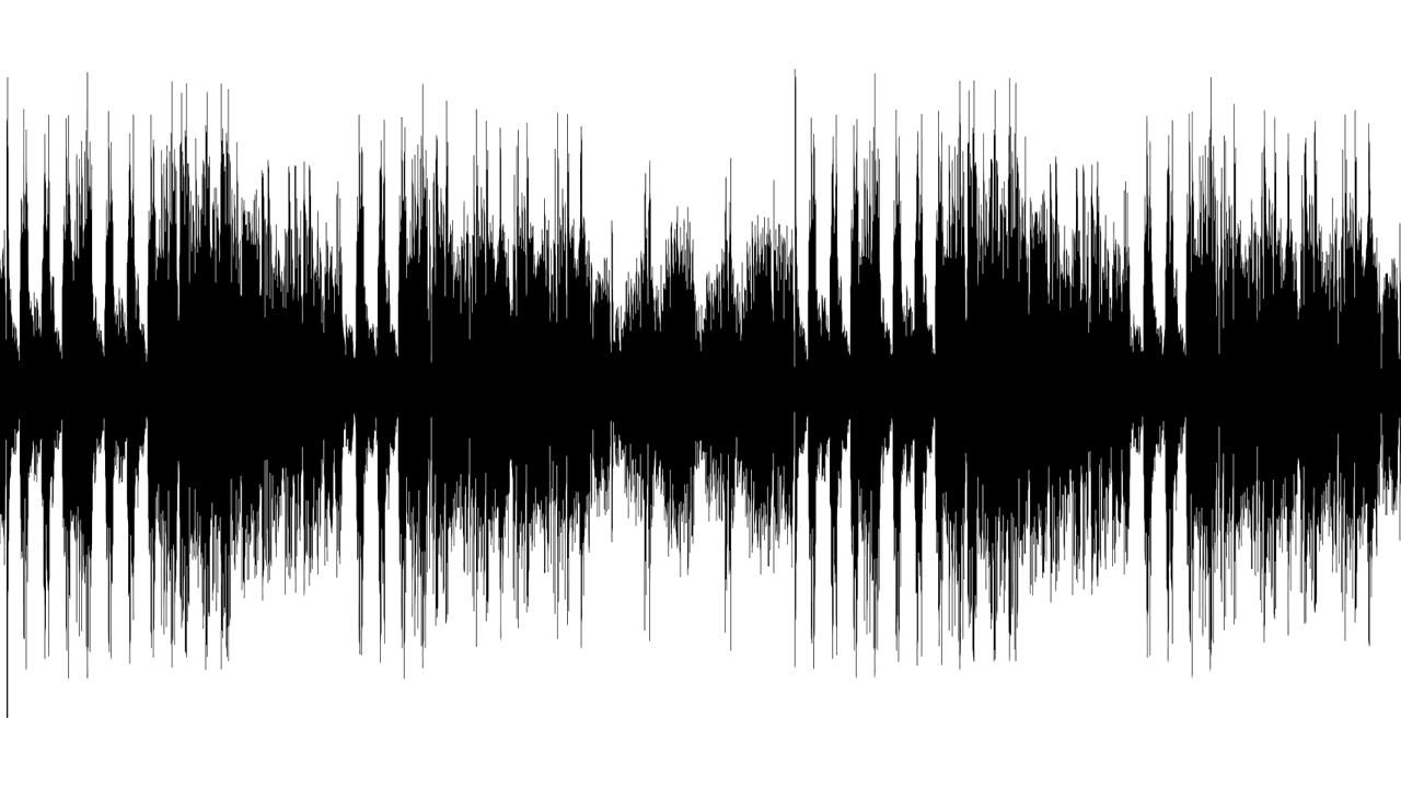 Nach der Aufnahme folgt der Schnitt der Audioschnipsel am Computer.