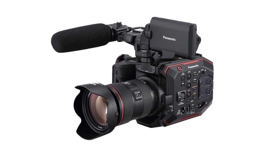 Die EVA1 ist unsere neue Hi-End Filmproduktionskamera. Bildquelle: https://business.panasonic.de/professional-kamera/AU-EVA1-kompakte-Kinokamera