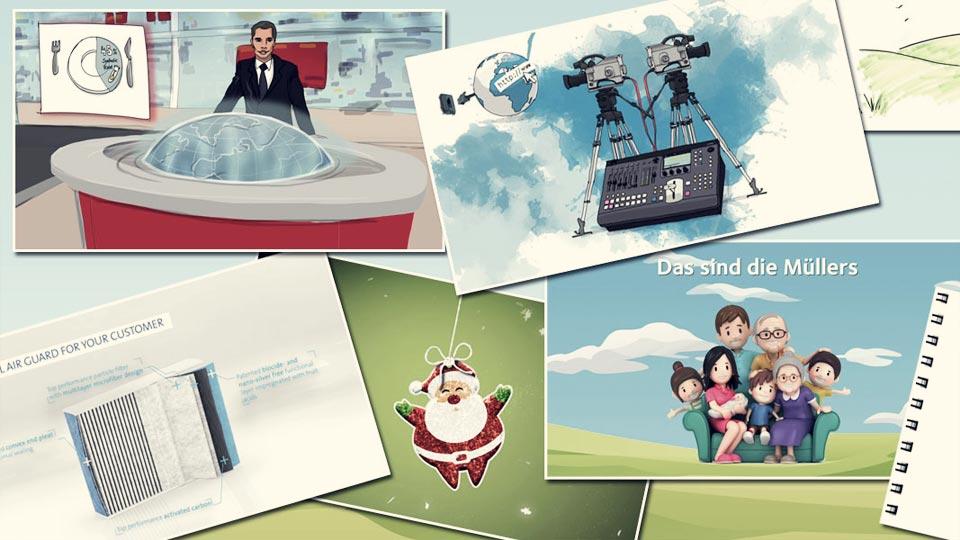 Animation erstellen mit Profis? Hier sind Sie genau richtig.