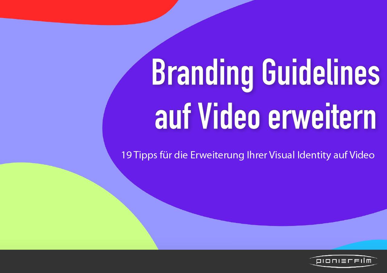 In diesem Whitepaper finden Sie 19 Tipps, um Ihre Branding Guidelines um das Thema Video zu erweitern.
