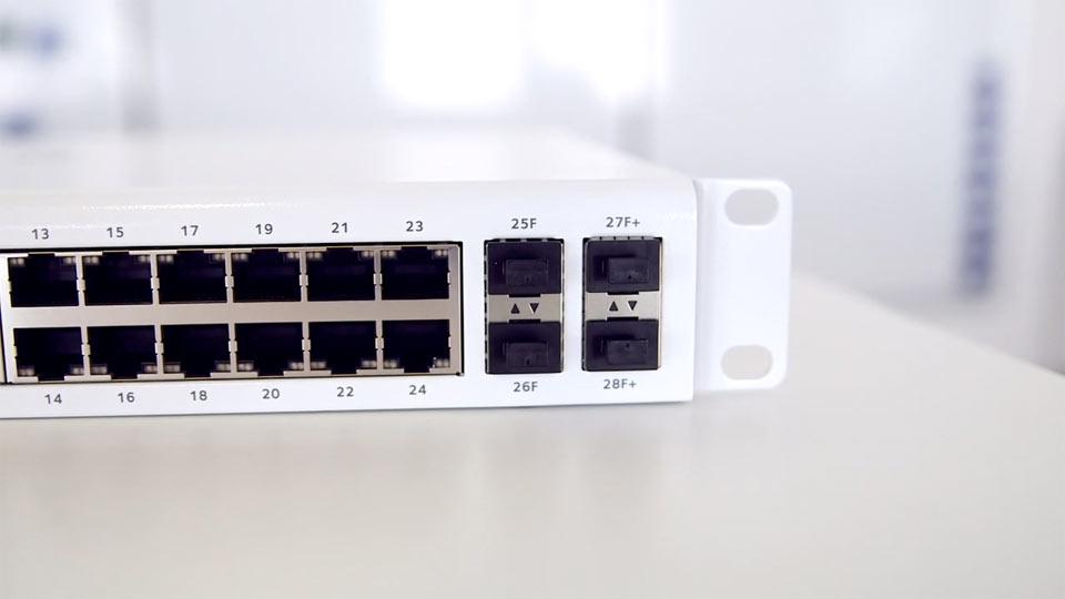 Das Objekt der Begierde ist Netzwerktechnik von Netgear.