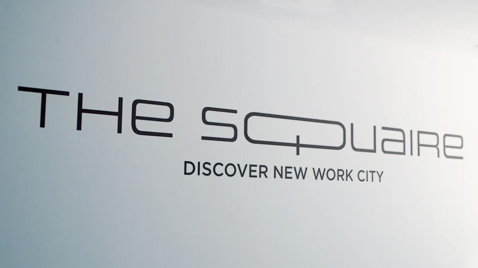 Für den Recruitingfilm drehten wir zum Beispiel auch im Squaire in Frankfurt.