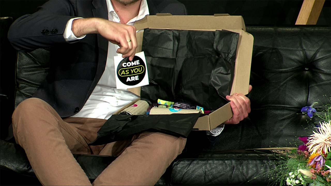 Das Goodie-Bag war die perfekte Möglichkeit, um die digitale Konferenz auch analog zu genießen.