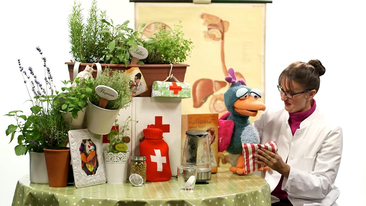 Die Hausmittel Kochshow entstand in unserem Filmstudio und erschien im Internet und auf DVD.
