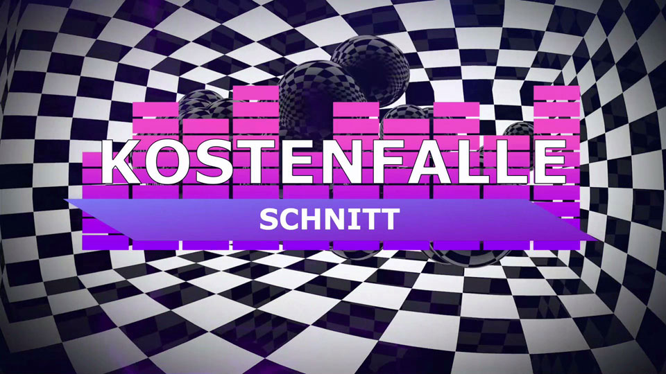 Kostenfallen in der Videoproduktion - Episode 09 - Schnitt