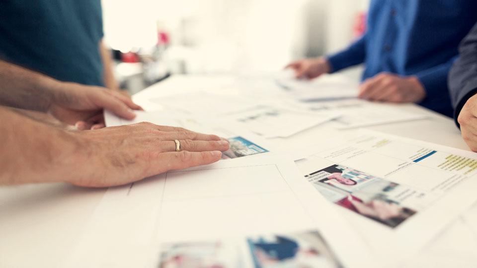 Wir arbeiten bei allen Produktionen marktorientiert und kreativ. Das kommt unserem Kunden und deren Zielpublikum zu Gute.