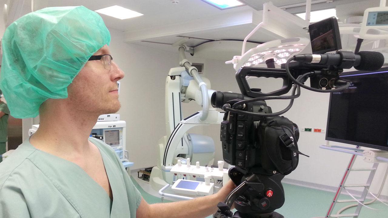 Ein Operation filmen zu dürfen ist für die Pioniere Immer wieder etwas Besonderes. Auch wenn wir es bereits unzählige Male taten.