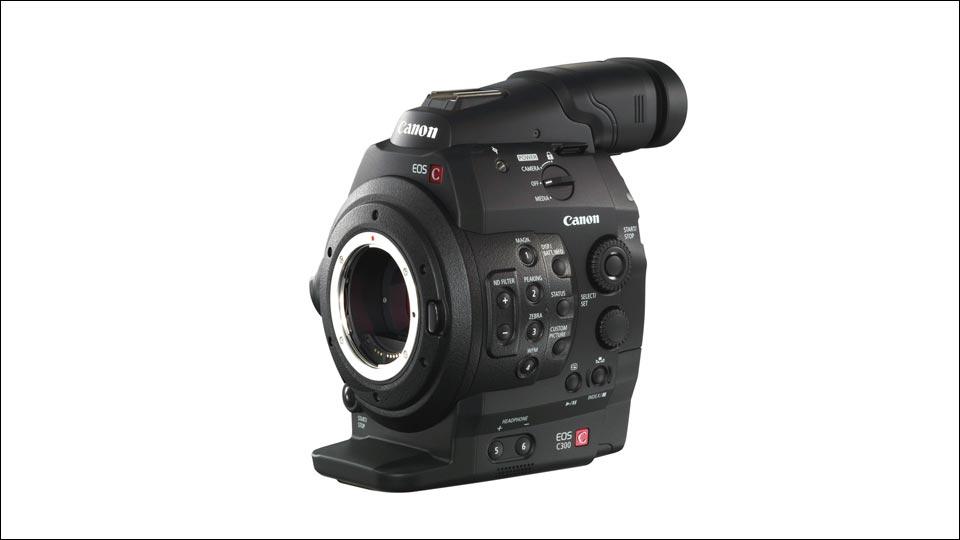 Die C300 - Für hochwertige Aufnahmen in Imagefilm, Werbefilm und Produktvideo.