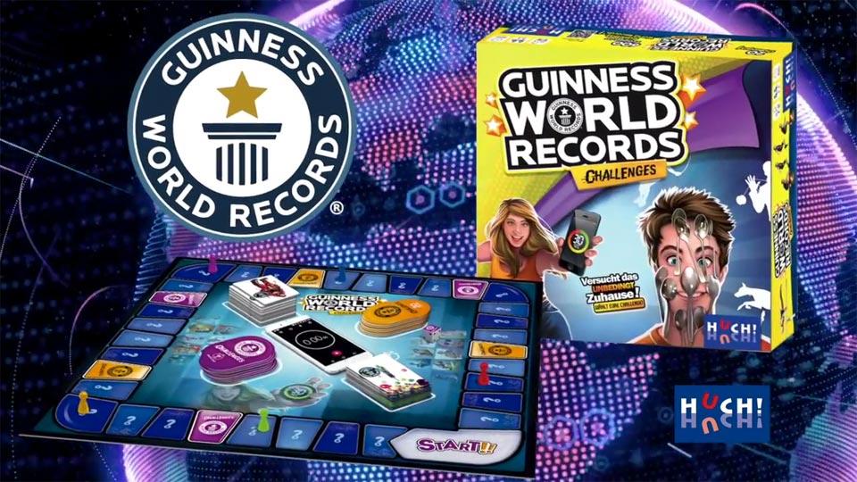Deutsche Synchronisation für Produktvideo durchgeführt. Von wem? Von der Pionierfilm natürlich. Wofür: Für das Spiel Guinness World Records Challenges von Huch.