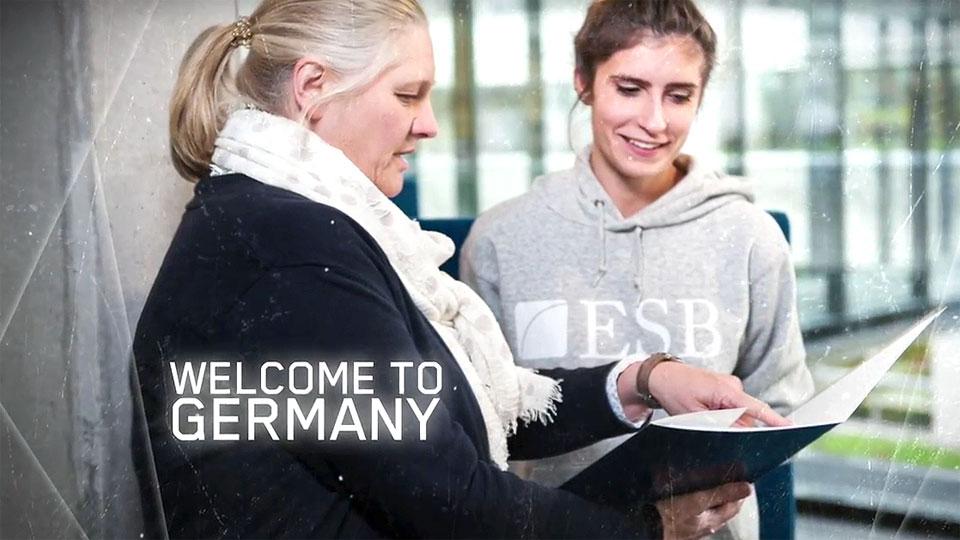 Imagefilm für Studiengang an der ESB Business School - Teil 2.