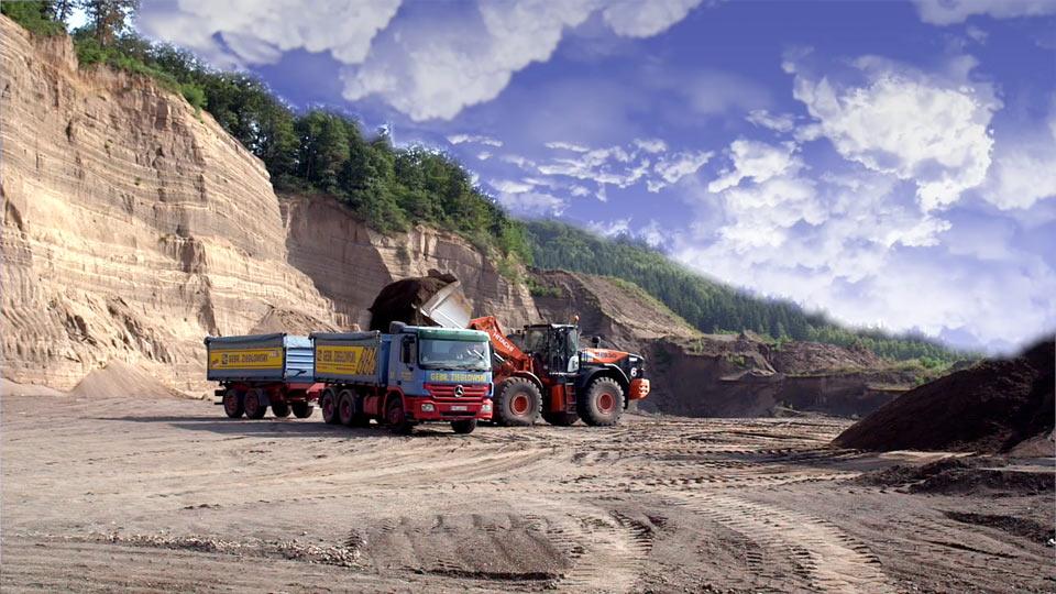 Wir haben einen Imagefilm für KLB produziert. Wo? In den Steinbrüchen rund um Koblenz.