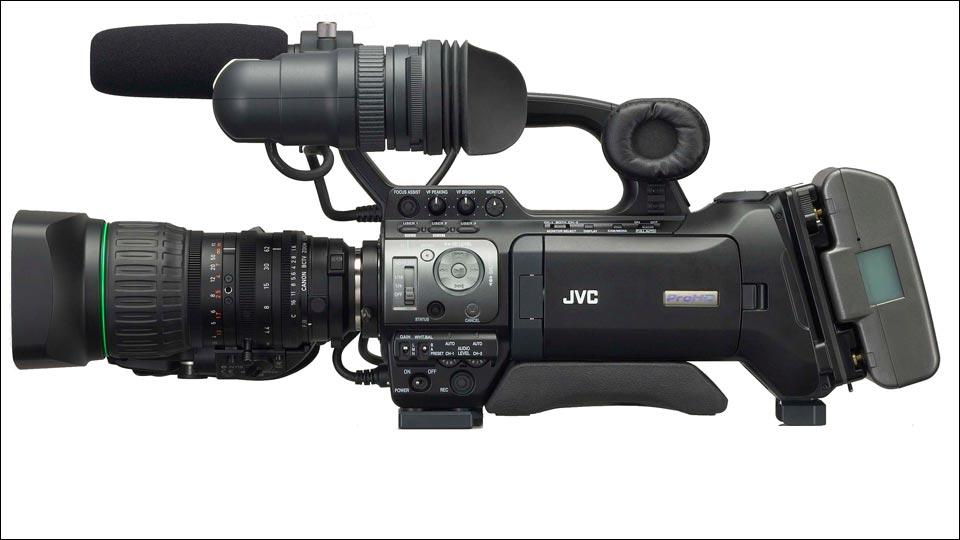 Die JVC GY-HM750 - Für Livestreaming und EB Einsätze.