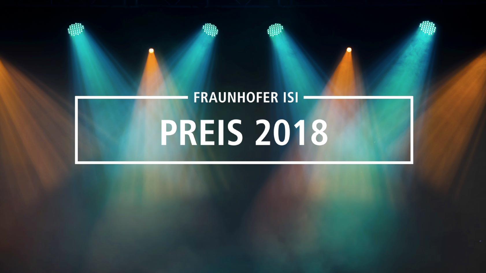 Wir haben ein Preisverleihungsvideo für das Fraunhofer Institut in Karlsruhe erstellt.
