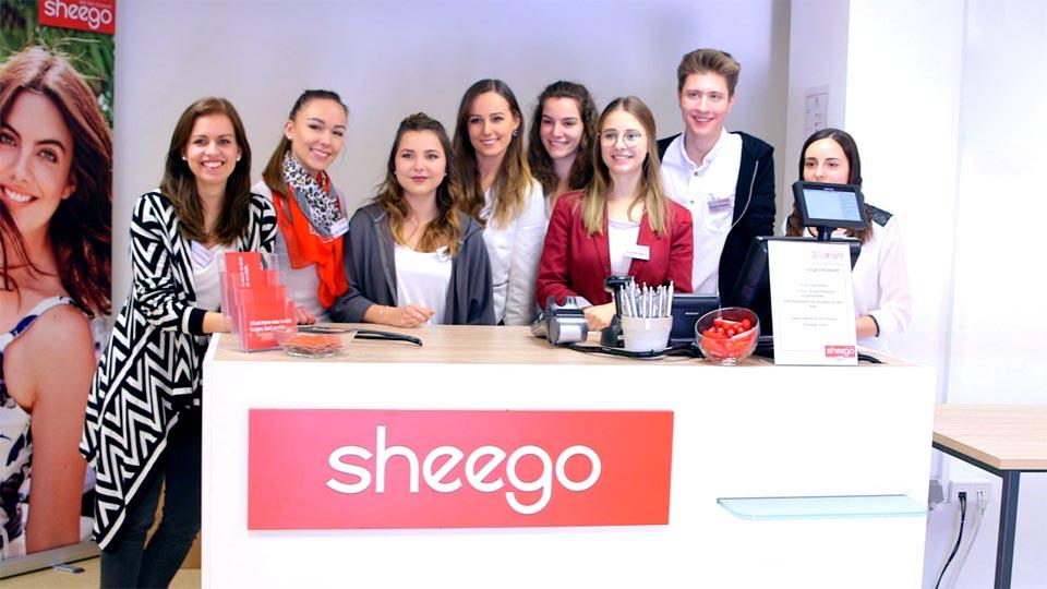 Recruitingfilm und Reportage in Einem - Pionierfilm dreht für Sheego.