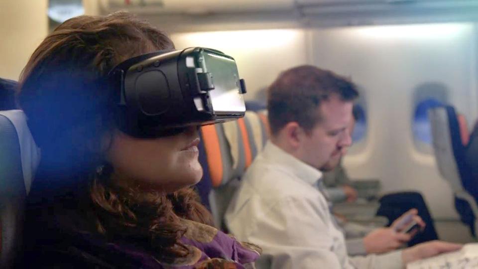 Testimonialvideo für 3spin, Samsung und Lufthansa erstellt.