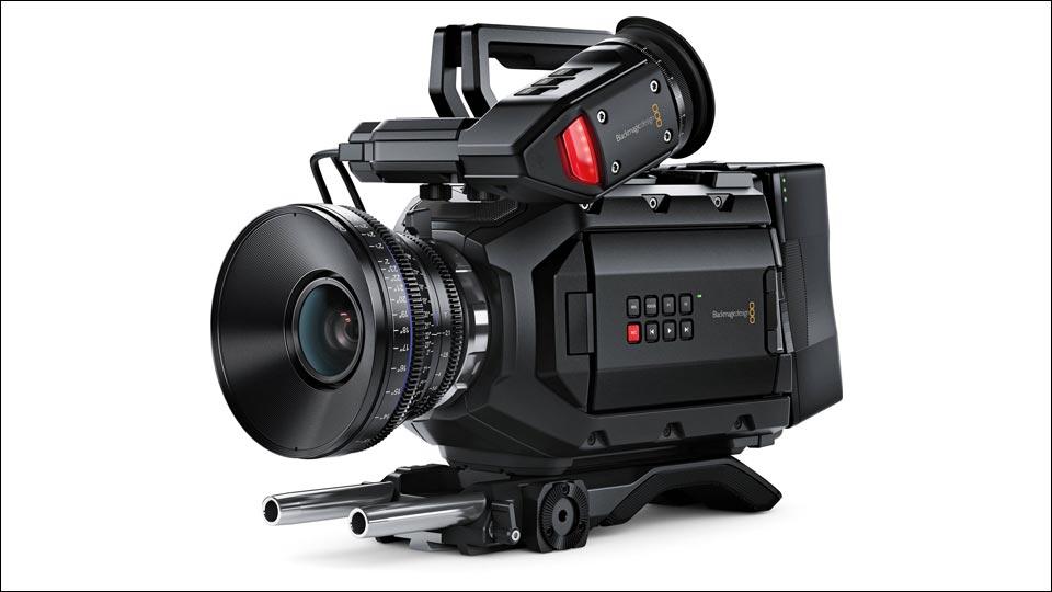 Die Blackmagicdesign URSA Mini ist unsere 4K Kamera für den Außeneinsatz.