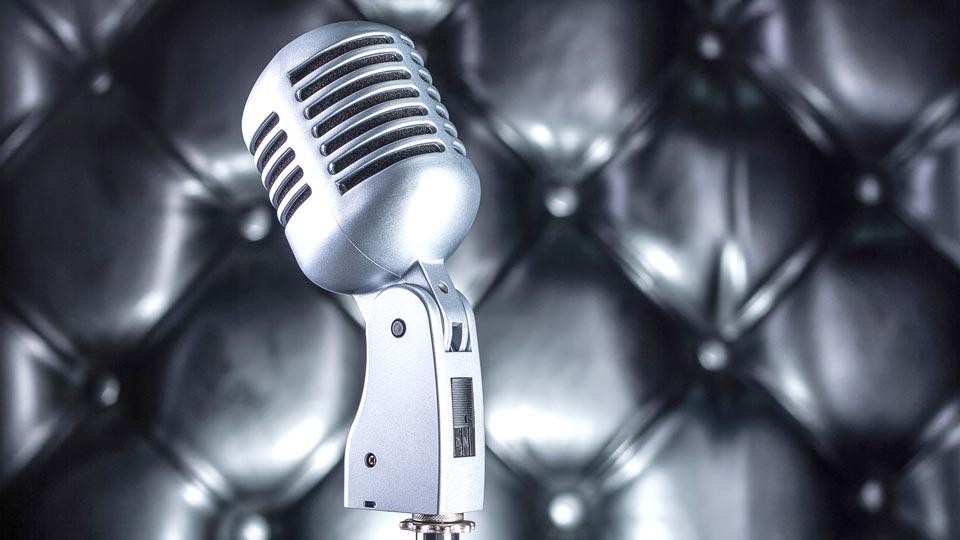 Sprachaufnahmen für Werbefilm durch die Pionierfilm GmbH.