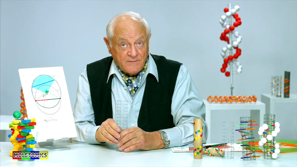 Lernvideo über DNA & Co. mit Prof. Dr. Hans-Jürgen Quadbeck-Seeger produziert.