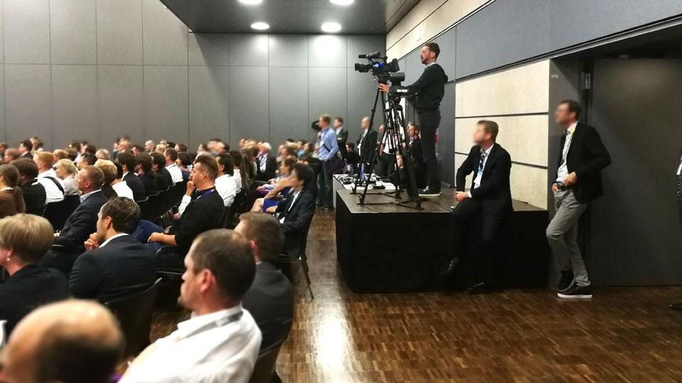 Auf dem SAS Forum 2018 in Bonn waren wir mit insgesamt 10 Pionieren vor Ort. Hier zu sehen Kamerapionier Till.