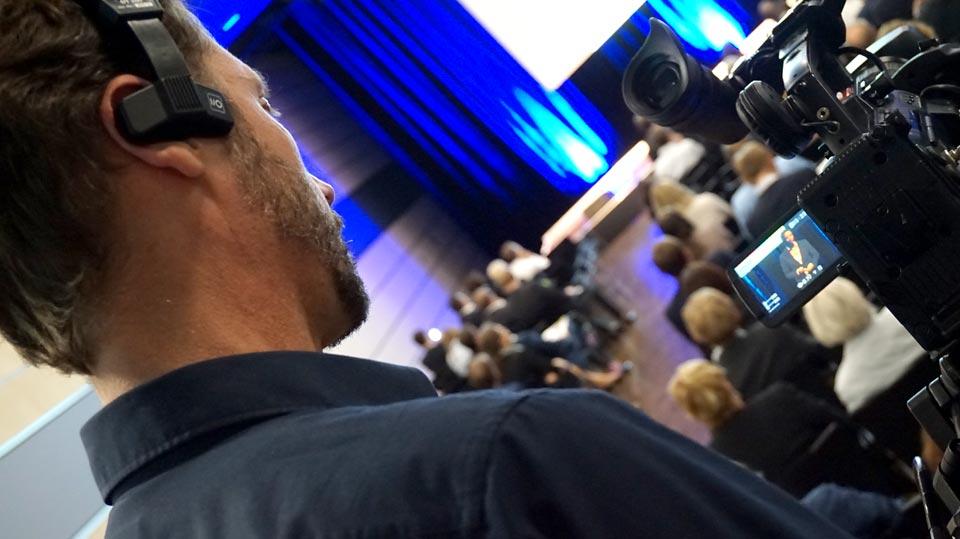 Für SAS haben wir einen Livestream in Bonn durchgeführt. Das besondere: Es wurde 3x parallel gestreamt.
