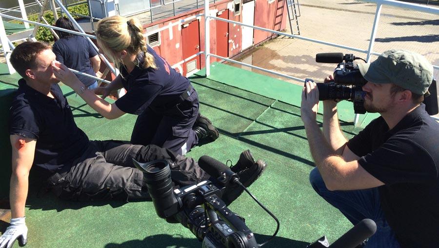 Kameramann Brian Morrison fängt die Szenen optimal ein.