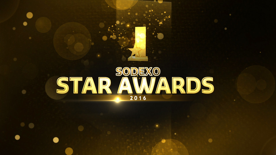 Filmproduktion für die Sodexo Star Awards 2016.