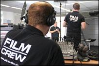Komplexer Livestream vom Flughafen Frankfurt durchgeführt.