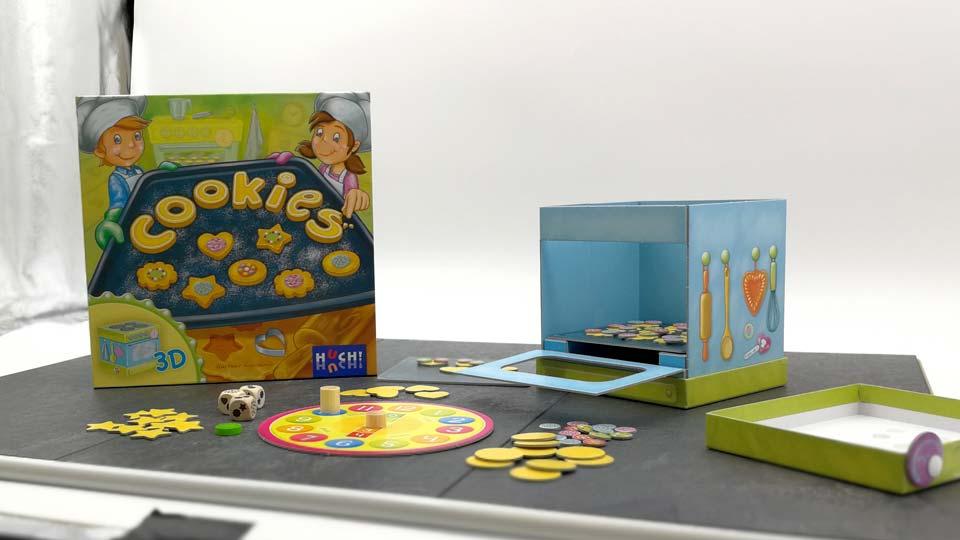 Mit Cookies nähern wir uns der Marke von fast 200 produzierten Spielevideos für HUCH!