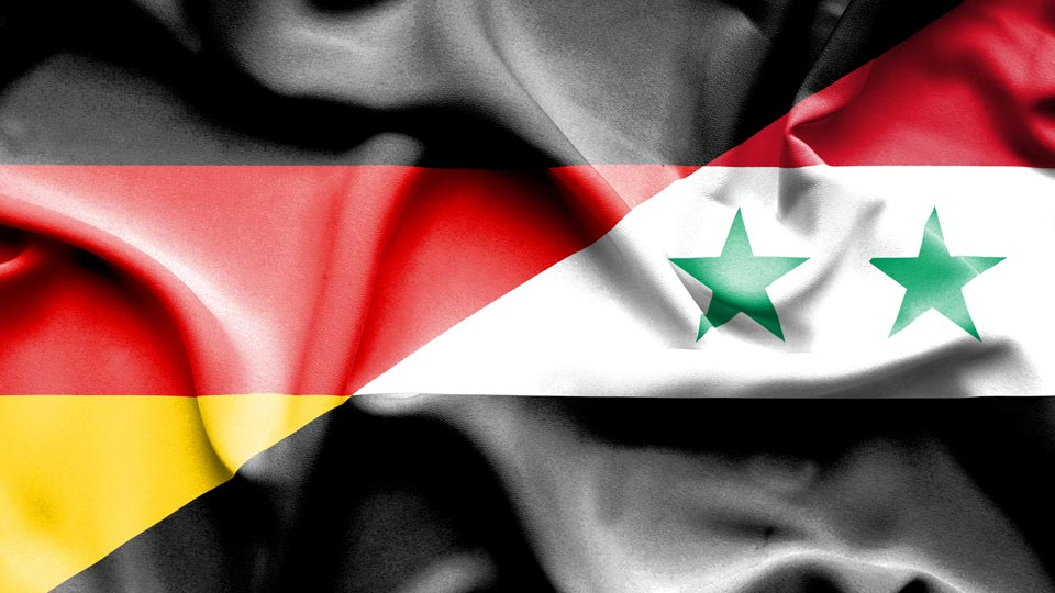 Synchronisation nach Arabisch für Menschen aus Syrien.