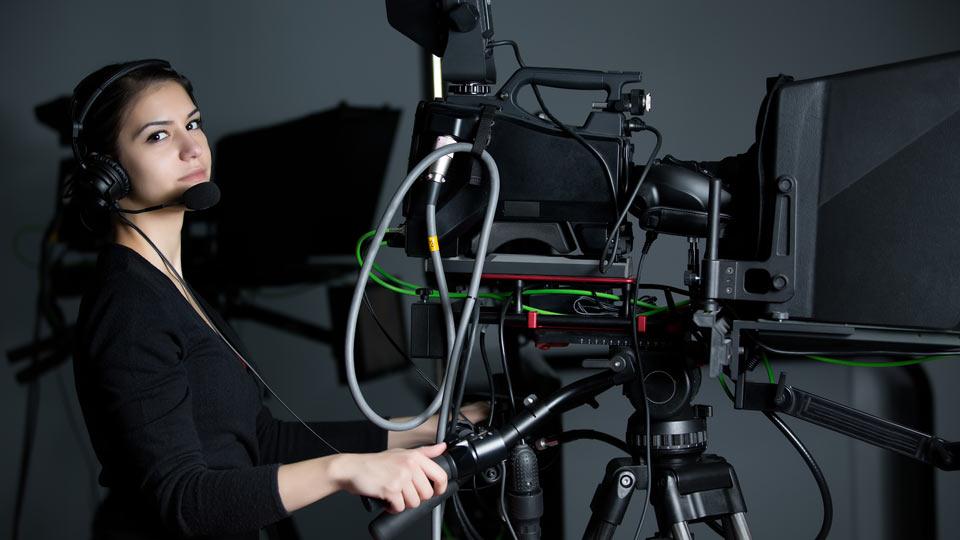 Teleprompter für Imagefilm einsetzen. Nichts leichter als das.