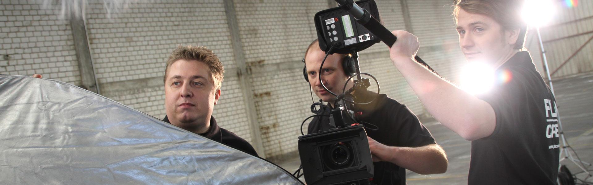 Wir setzen mit Ihnen Ihre Filmproduktion um.