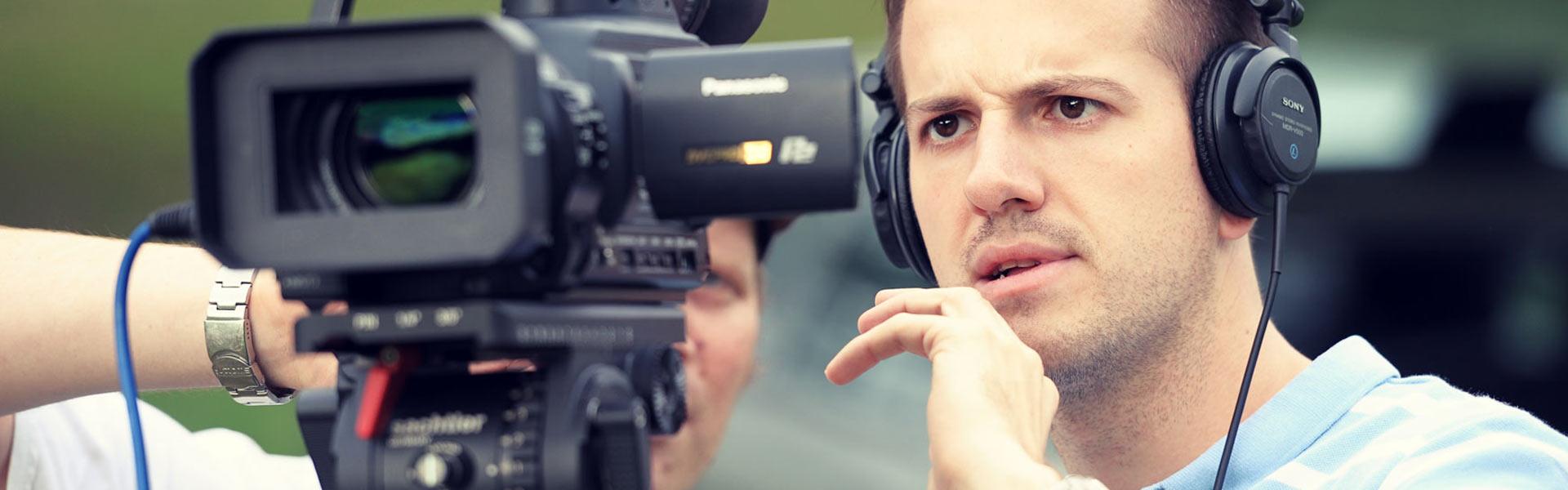 Wir produzieren Ihren Imagefilm.