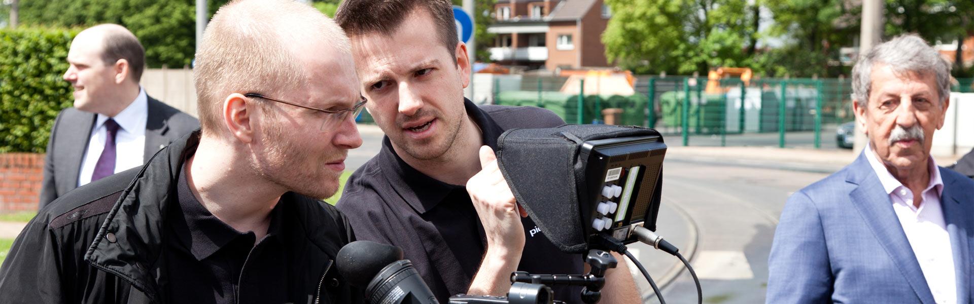 Produzieren Sie Ihren Werbefilm mit Pionierfilm.