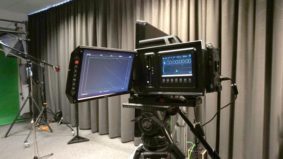 4K Kamera Blackmagic Ursa ist bei den Pionieren eingetroffen.