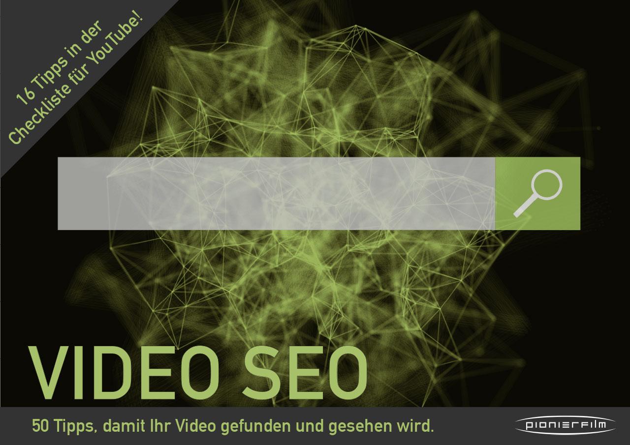 In unserem Whitepaper finden Sie 50 Tipps und eine Checkliste für Ihr perfektes Video-SEO.