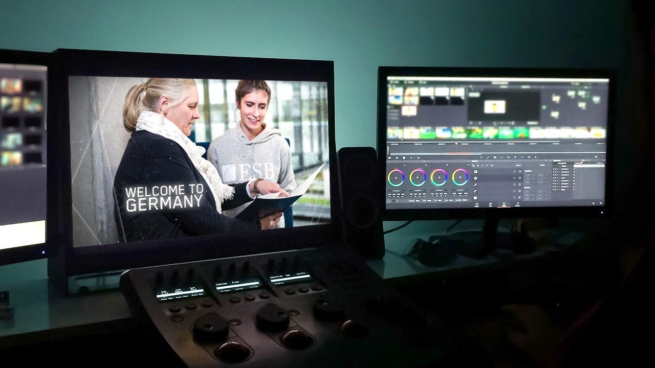 Da sich Videos für Hochschulen schnell ändern können, arbeiten wir mit Templates.