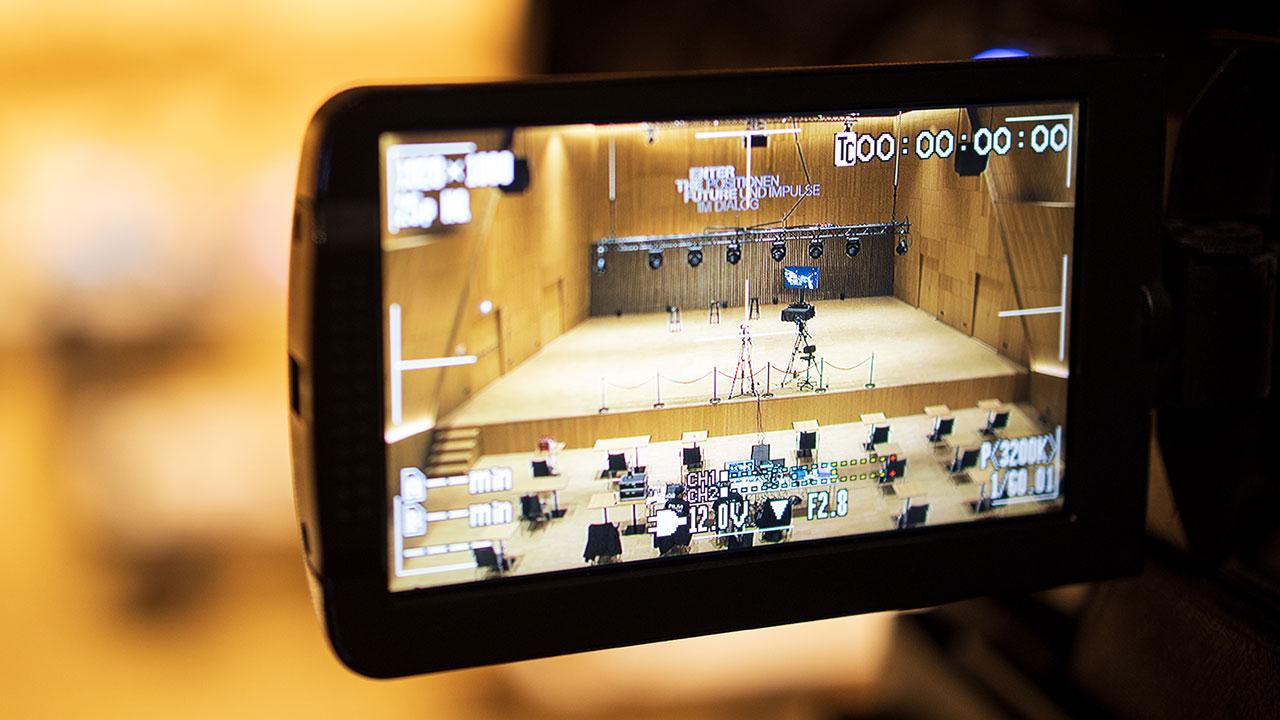 Wir Pioniere sorgten für die virtuelle Präsenz eines Redners während einer Veranstaltung von WITTENSTEIN.