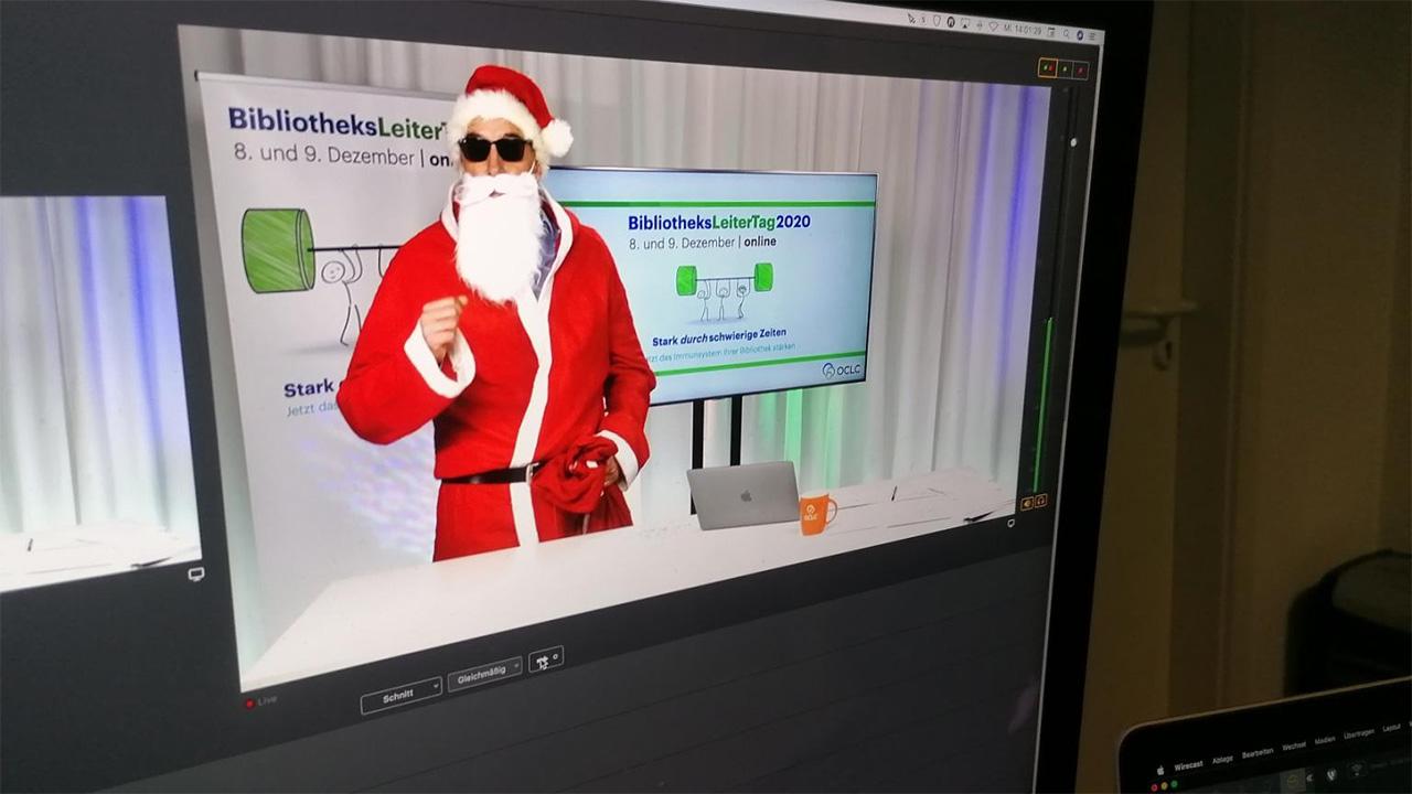 Was wäre ein virtueller Kongress ohne den Nikolaus? Richtig – doof.