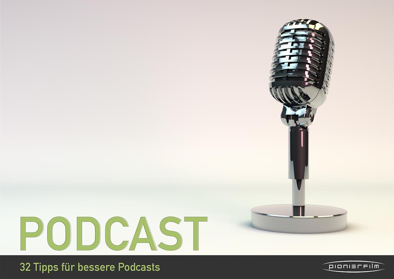 32 Tipps für bessere Audiopodcasts finden Sie in diesem Whitepaper.