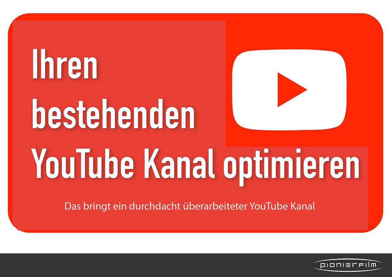 Optimieren Sie Ihren bestehenden YouTube Kanal mit diesen 10 Tipps.