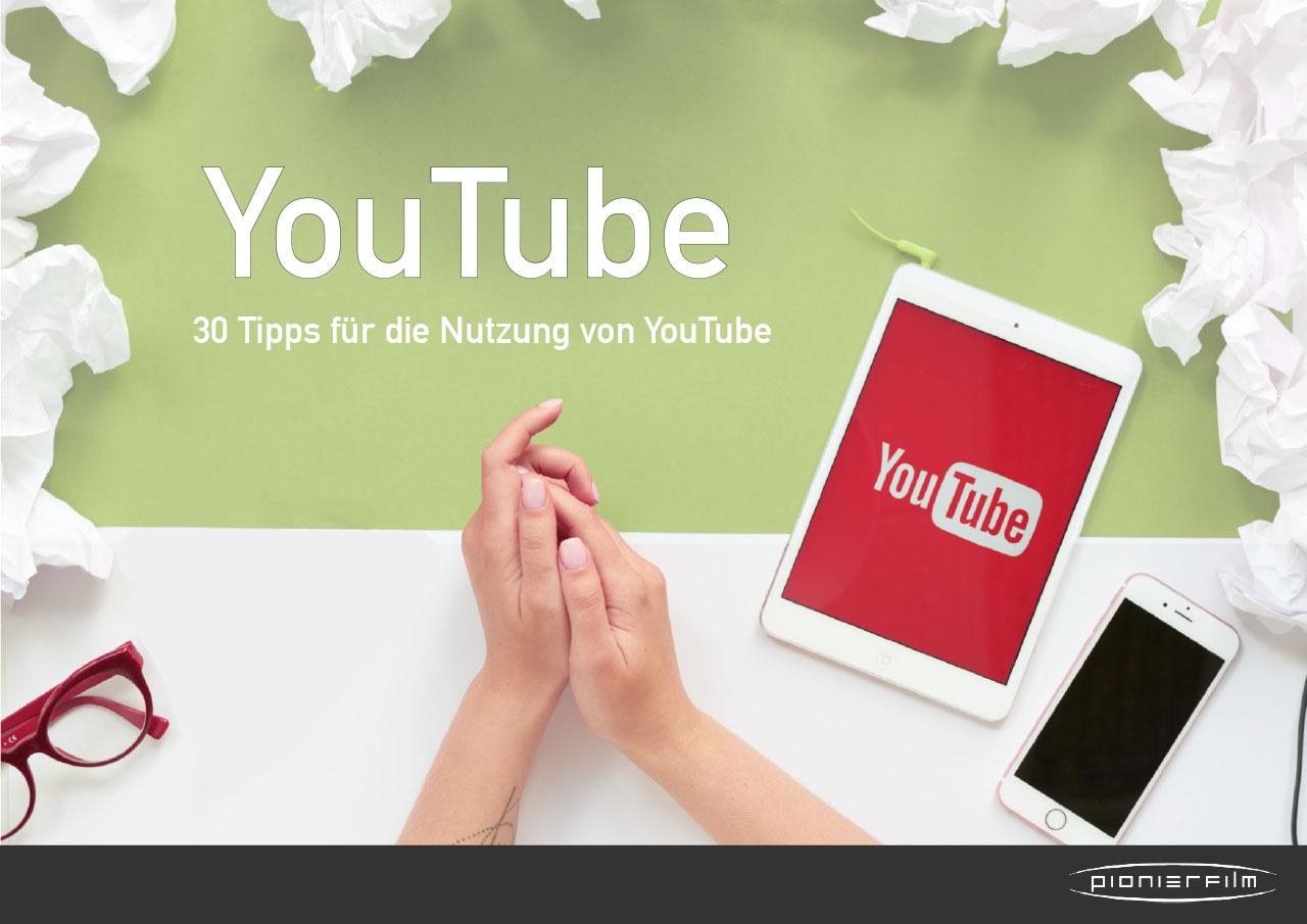 In diesem Whitepaper finden Sie 30 Tipps, um YouTube besser zu nutzen.
