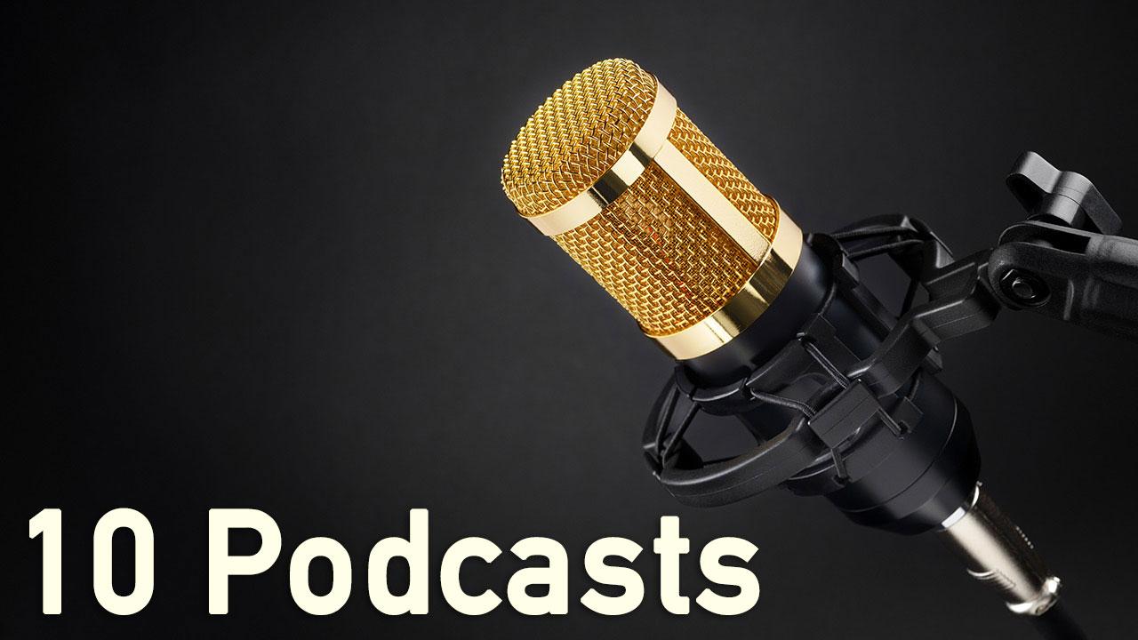 Podcasts sind derzeit schick, modern und hip. Sie kommen gut an.