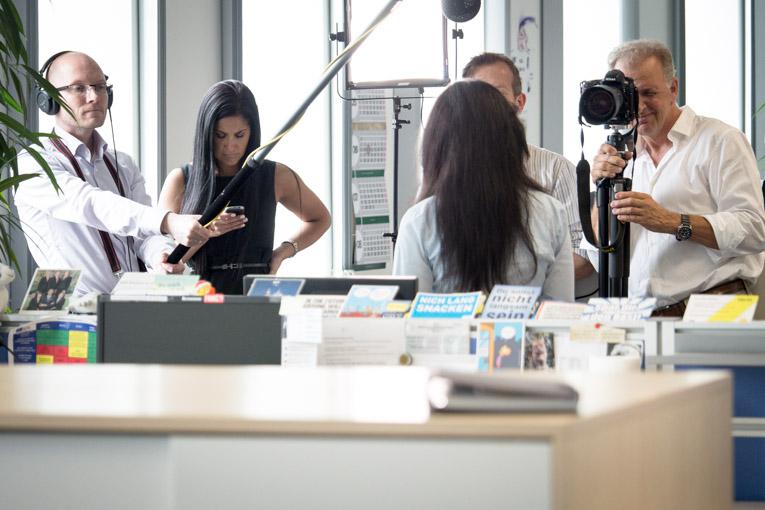 Es entanden diverse Recruitingvideos für American Express.