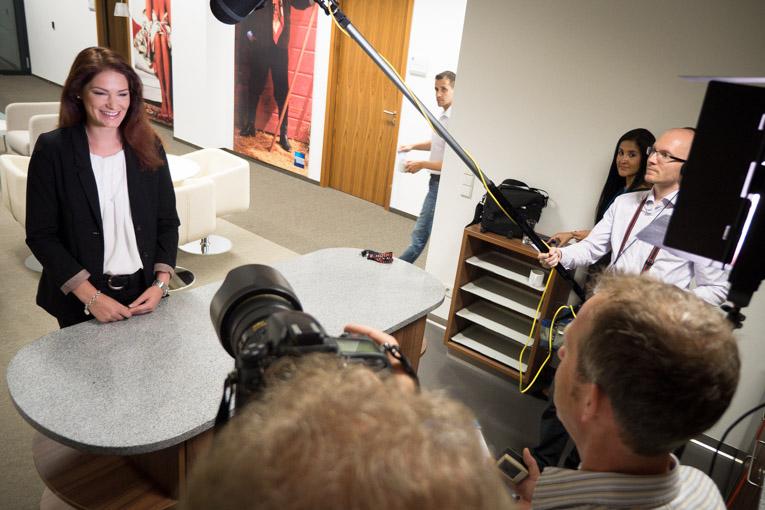 Für American Express Frankfurt haben wir mehrere Recruitingvideos gedreht.