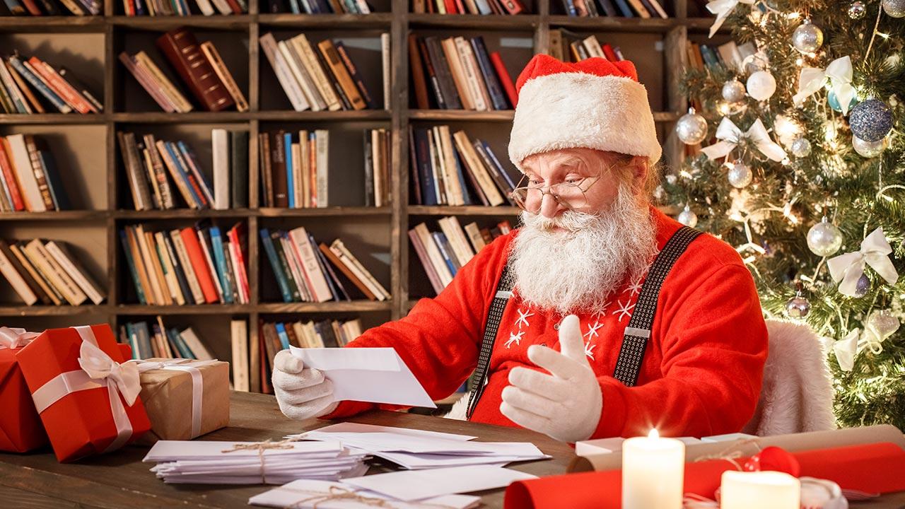 Selbst der Weihnachtsmann würde sein Weihnachtsvideo erstellen lassen von ... den Pionieren.