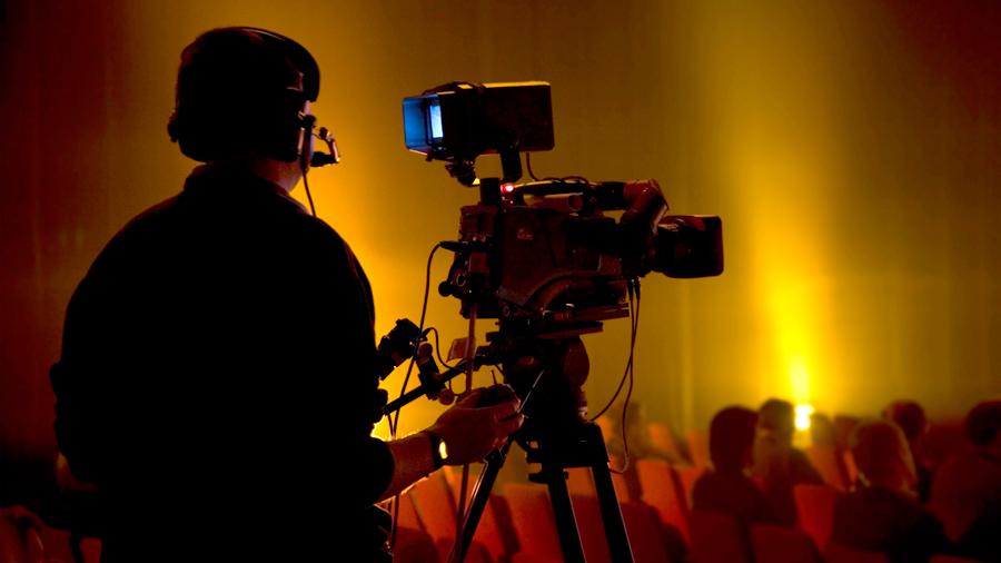 Livestream eines Events mit der Pionierfilm.