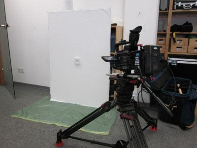 Die Sprachfassungen für das Produktvideo wurden in unserem Studio gedreht.